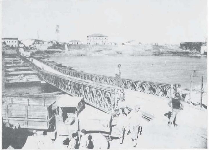 Photo 14 – 169TH 's floating bailey at Ostiglia