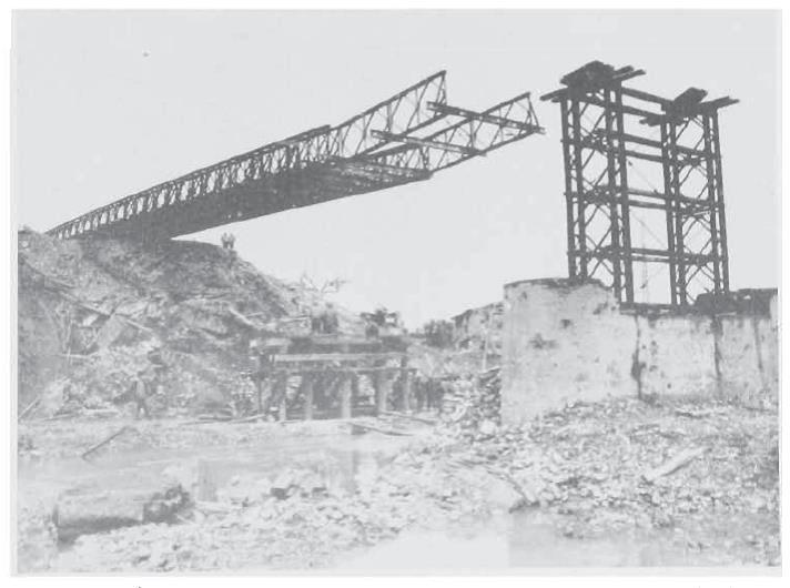 Photo 15 – Launching 182nd Bailey near Praduro