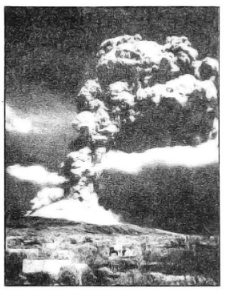 Photo Caption: Vesuvius blows its top.
