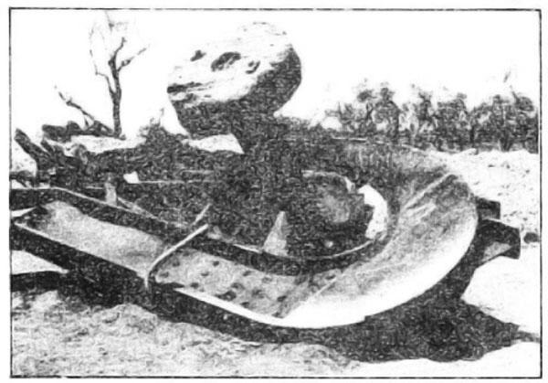 "Photo Caption: The German ""Big Hook"". The German name is ""Schienenwolf"": the ""Rail Wolf"""